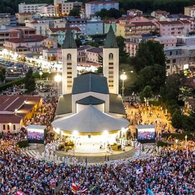 festival dei giovani a Medjugorje